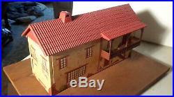 Marx ZORRO HACIENDA BUILDING withBALCONY Mexican Alamo Western playset