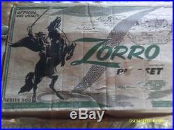 Marx Zorro Playset 98% Complete