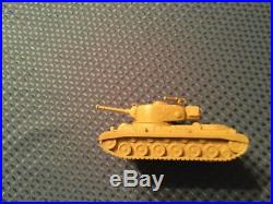 Marx battleground, Desert Fox large 51 Tank Tan Complete