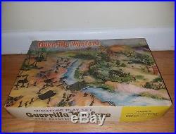 Marx miniature playset RARE Guerrilla Warfare MINT marx toys soldiers military