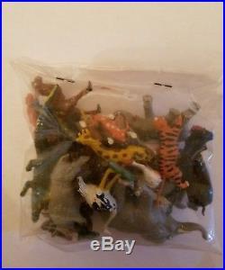 Marx miniature playset wild life jungle animals marx toy marx playset SUPER RARE