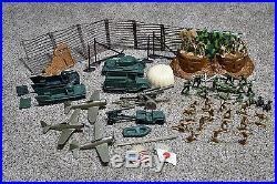 Marx playset Iwo Jima Battleground Desert Fox Vintage play set 1960s