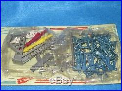 Marx proto-type Space set blister card from R&D Glendale plant 1958