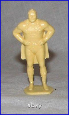 Marx rare vintage Superman figure with marked base