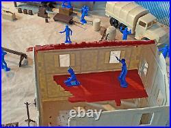Marx recast Untouchables Playset 54mm-60mm Plastic Toy Soldiers