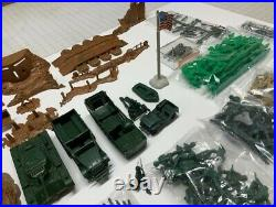 Marx/sears Army Combat 4148/6017 Boxed Playset From 1963