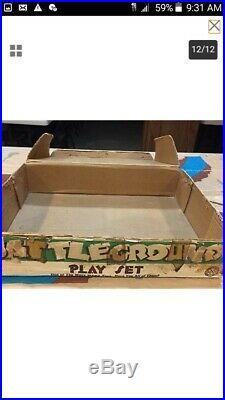 Marx vintage playset battleground box#4752