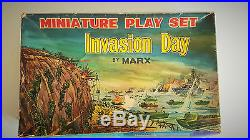 Miniature playset Invasion Day by MARX (1964)