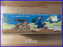 Mint Old Store Stock Marx Flintstones Miniature Play Set 1962 Hanna Barbera