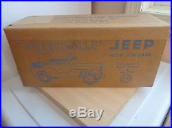 Mint Sealed Marx Tin Toy Nellybelle Jeep-Pat Brady/Dale Evans/Bullet Playset