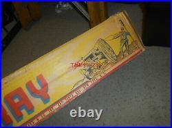 Nice Vintage Marx Giant Blue & Grey Battle Playset in Box
