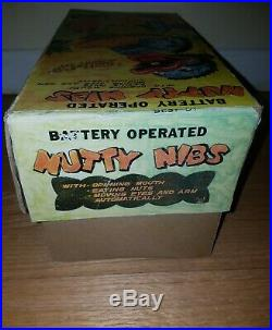 Nutty Nibs Linemar Marx tin battery operated toy windup playset tin lito mint