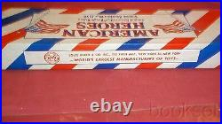 ORIGINAL MARX 1955 RARE AMERICAN HEROES COLONEL ROOSEVELT & ROUGH RIDERS WithBOX