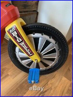 ORIGINAL Marx Big Wheel- 1970s- Brakes, Saddle Bag- Louis Marx- Rare Find