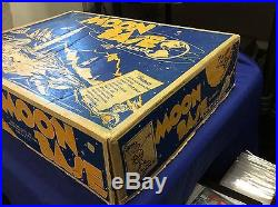 Original 1958 Marx Toys MOON BASE #4652 Playset box withBASE HTF space sci-fi