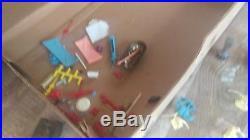 Original Marx Ben Hur Coliseum Play toys with box
