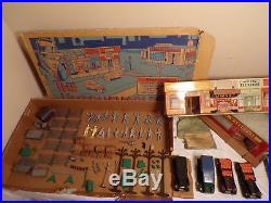 Original Marx Untouchables Playset With Box