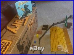 Original OOAK 1950's Marx, etc FURY! TV Playset with NEW Box! Graves, Diamond