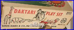 Playset Figures-Daktari-Marx Boxed 1967-SSX