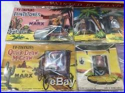RARE 1961 Marx Hanna Barbara Tinykins postcards /Store Display tinykin