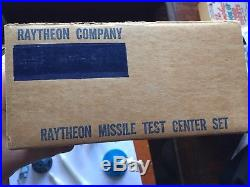 RARE 1961 Raytheon Missile Marx Playset Play Set 1960's With Box