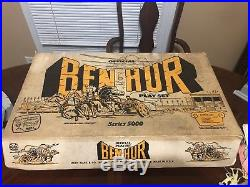 RARE MARX BEN HUR 5000 #4701 BOX WITH INSERT (box only, no contents)