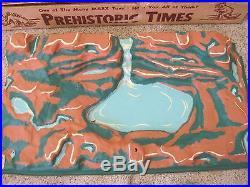 Rare Marx Prehistoric Times Series 1000 No 3390 Play Set