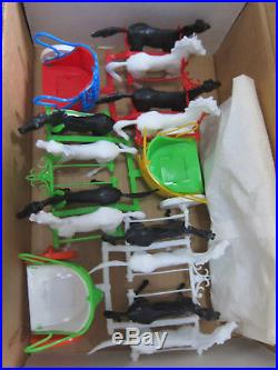 RARE, MARX, ROMAN COLISEUM CHARIOT RACE PLAYSET NEW IN BOX Ben Hur MX5201