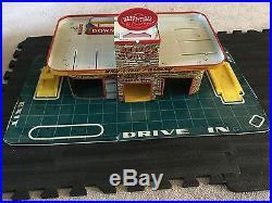 RARE Marx Happi Time Tin Service Center Sky-View Parking
