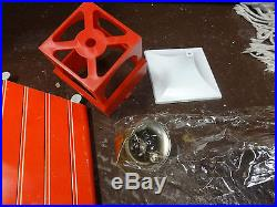 RARE Marx Little Red Schoolhouse Playset Building School House Play Set 1956