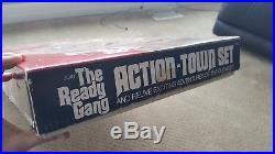 RARE! Marx Toys The Ready Gang Action Town Set NIB