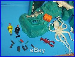 RARE Marx Undersea Adventure Playset With Box