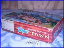 RARE Vintage Marx Tiger Town Miniature Playset in original box