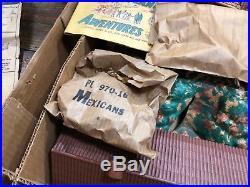 RARE Vintage NOS Marx Walt Disneys Zorro Play Set Series 500 3753 NEW IN BOX