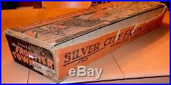 Rare 1950s Marx Silver City Frontier Town Playset in Original Box American Hero