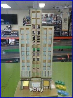 Rare 1957 Marx The Skyscraper Building Tin Litho Toy Playset 5450 Empire State