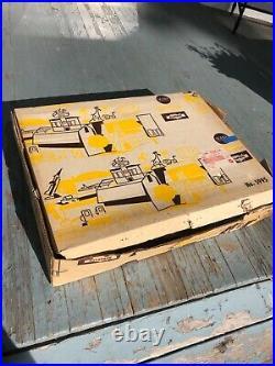 Rare 1958 Marx #5995 Sears Giant Disneyland Playset w Original Box barely used