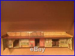 Rare 1959 Marx Tales of Wells Fargo Train Set with Jim Hardy in Original box