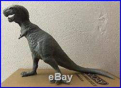 Rare 1960's Marx Flintstones Hunting Party Play Set Tyrannosaurus T-Rex Figure