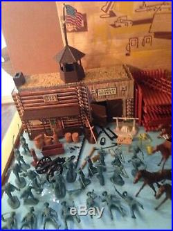 Rare 1966 Marx Sears All State Fort Apache Play Set Box No. 5951 One Year Only