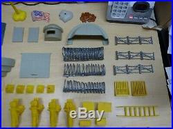 Rare 1974 Marx Toys Guns of Navarone Mountain Battleground Play Set #3412 with Box