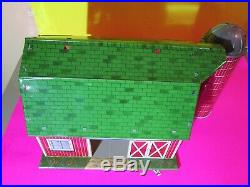 Rare Marx'56 Limited Ed. Mechanical Barn, Silo, Silo House, Mech. Shed! 364-Y