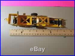Rare Marx'56 Ltd. Ed. 9 Piece Mech Farm Tin Tractor Set (1 Piece Free)! 363-Y