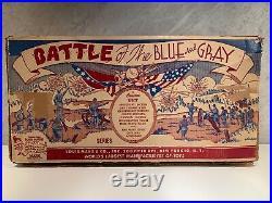 Rare Marx Battle of the Blue and Gray No. R-4745 Civil War Playset circa
