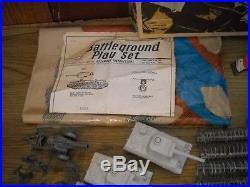 Rare Marx Battleground 4757 M. O. 1963 Boxed Playset
