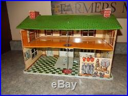 Rare Marx Fire House 1950s