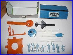 Rare Marx Raytheon Missle Set 1950s Set Minty With Original Box