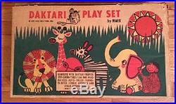 Rare Playset Figures-Daktari-Marx Boxed 1967 LOW OPENING BID