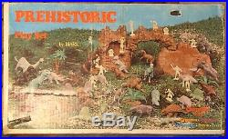 Rare Vintage 1971 Marx Prehistoric Playset number 3398