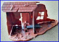 Rare Vintage Marx American Patrol, European Theater Exploding House COMPLETE